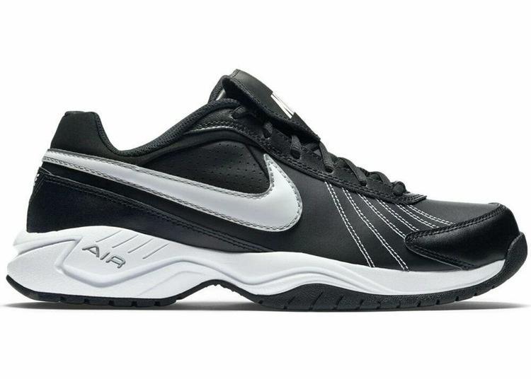 7384aa9f6bb6 Nike Men s Air Diamond Trainer Size 11.5 Turf Trainer Shoe NEW Black White