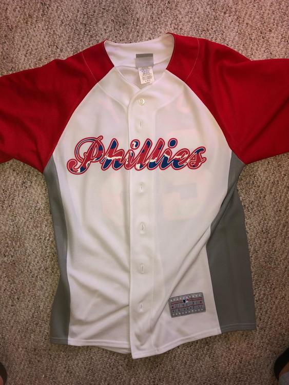 separation shoes 34487 68b10 Phillies Camo Jersey-Chase Utley