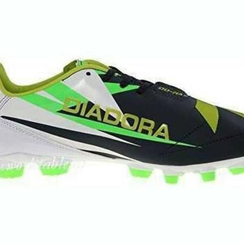 2f380ec69 Diadora Italica R ID Mens Turf Soccer Shoes Size 8.5 Black Yellow White -  NEW · SFO · NEW LISTING