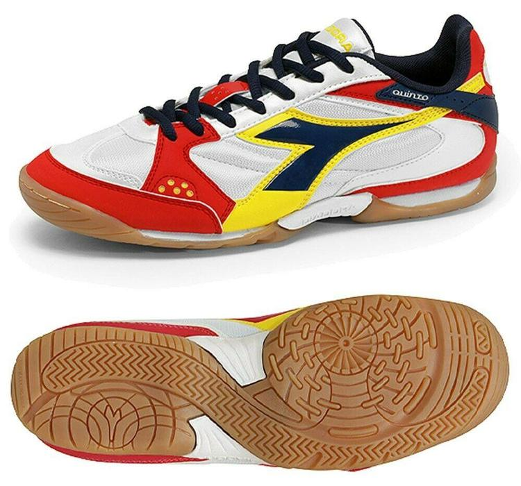 29d0334f2c119 Diadora Quinto ID Turf Shoes Size 8 White/Red - NEW | Soccer ...