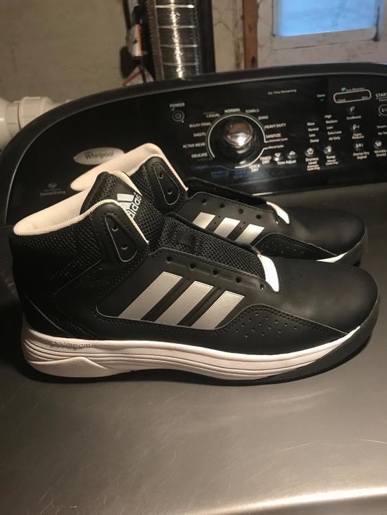 Adidas Black Shoes **no Laces Size 7