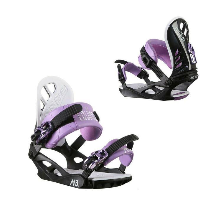 beb8b603222 M3 Equinox 4 Womens Snowboard Medium Purple Black - NEW ...