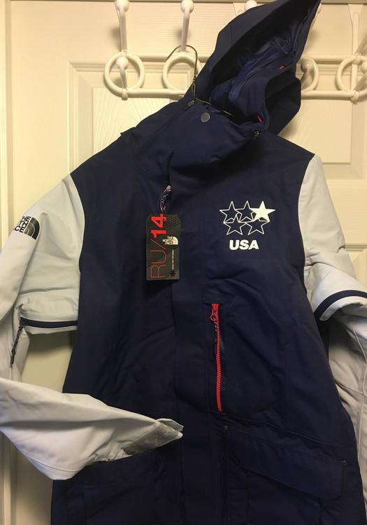 c4d21b43c North Face OLYMPIC Women's Freeski Team Jacket