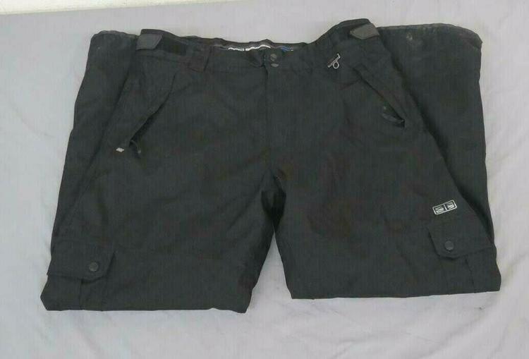 82bde844a14 Ocean Earth Pro Series Fleece Lined Ski/Snowboard Cargo Pants Men's XXL  GREAT