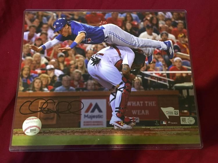 lowest price 55a60 88e87 Chris Coghlan Toronto Blue Jays Signed Autographed 8x10 Photo MLB  Authenticated