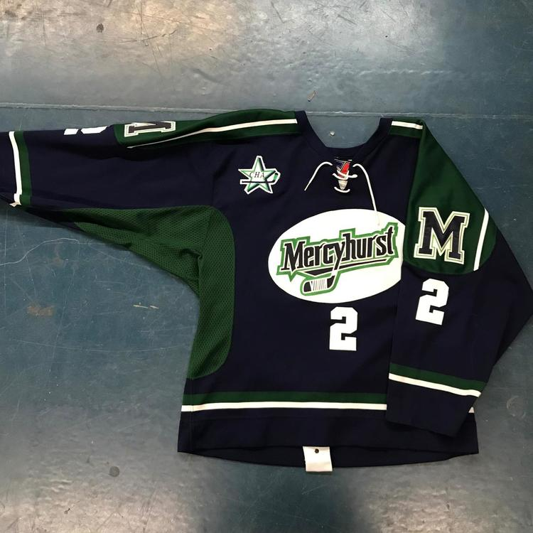 factory price a52c1 0ac29 New NCAA College Hockey Game Jersey - Mercyhurst