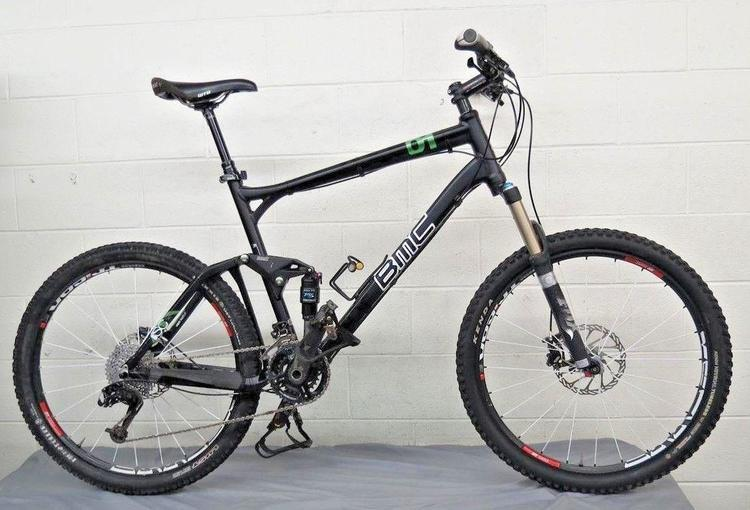 052aef42db6 BMC Speedfox 01 Full Suspension 20-Speed Aluminum Mountain Bike XL ...