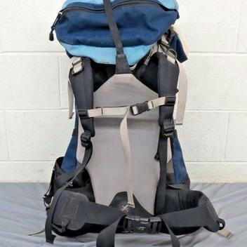 54bae187c The North Face Stamina 65 Internal Frame Backpack Blue Women's Small ...
