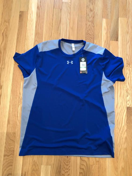 """30c47eb9b Related Items. Add to My Feed. 15% OFF. $17. 5 · (Small) New Under Armour  University of Toronto """"I Am a Champion"""" Heatgear Shirt"""
