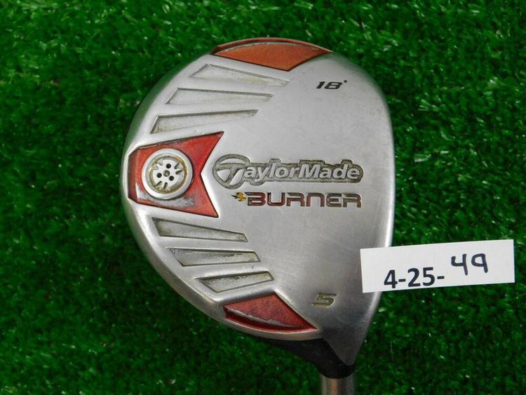 TaylorMade Burner Steel 18* 5 Wood REAX SuperFast 50 Regular Graphite (Firm  Price No Trades)