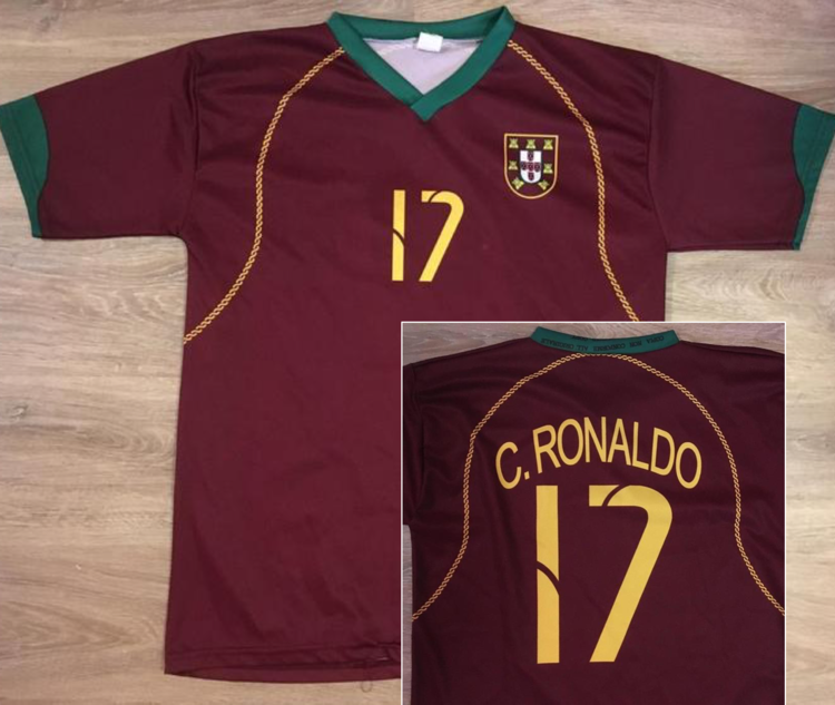 online store 64c31 030db (Medium) Cristiano Ronaldo / Portugal National Team Jersey