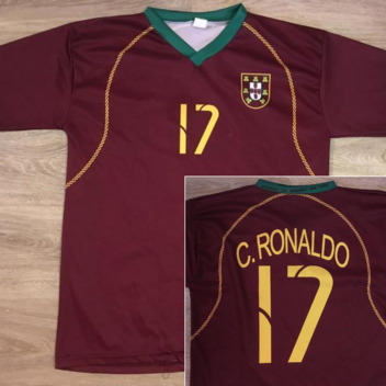 a1cf93180ad Nike UNWORN 2018 Cristiano Ronaldo Portugal World Cup Jersey Large ALL  PATCHES