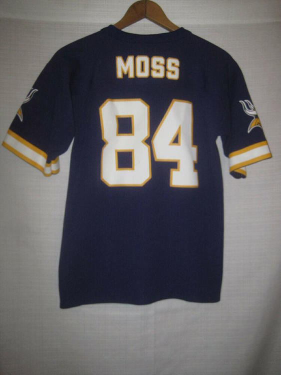 8e3db504ed3 Minnesota Vikings Randy Moss Jersey kids boys L 14/16 NFL | Football  Apparel | SidelineSwap