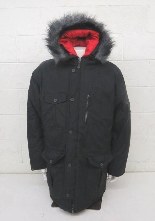 8ba40bcaf Nike High-Quality Thickly Insulated Hooded Puffer Jacket Black Mens XL  EXCELLENT