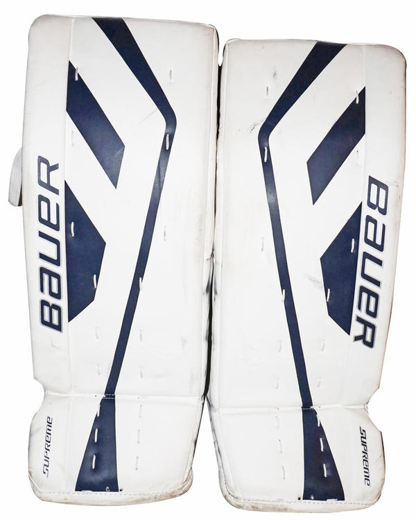 BAUER SUPREME S150 SENIOR GOALIE LEG PADS - HOCKEY 32