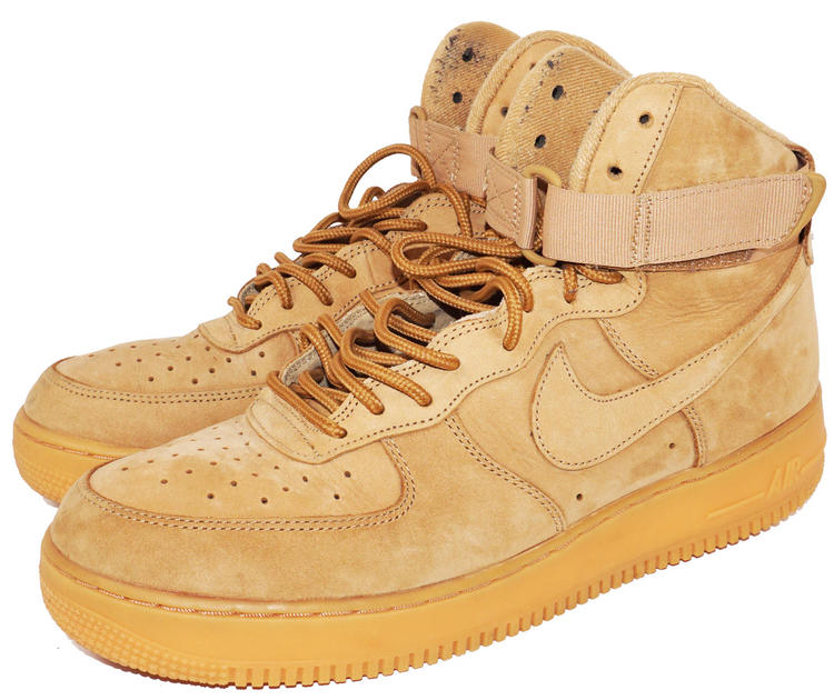 eaf2075a9a369 NIKE AIR FORCE 1 HIGH TOP WHEAT TAN 882096-200 - MENS SHOE SIZE 11 - NO BOX  USED. Related Items