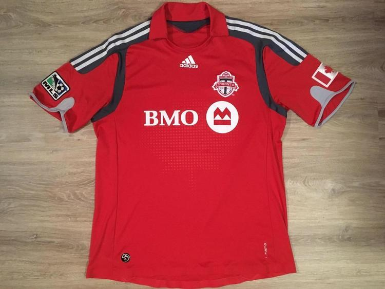 size 40 b22d5 2beb5 (Large) Adidas Climacool Toronto FC / MLS Jersey