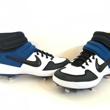 new concept 0b719 6434e Nike Alpha Huarache Elite 2 Mid Baseball Cleats, Size 8.5 · xaos21 ·  49