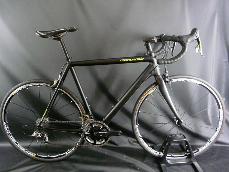 b1068e815a2 Cannondale 2014 CAAD10 Black Inc Sram Red11-Speed Mavic Wheels Size: 56cm |  Bikes Complete Bikes | SidelineSwap