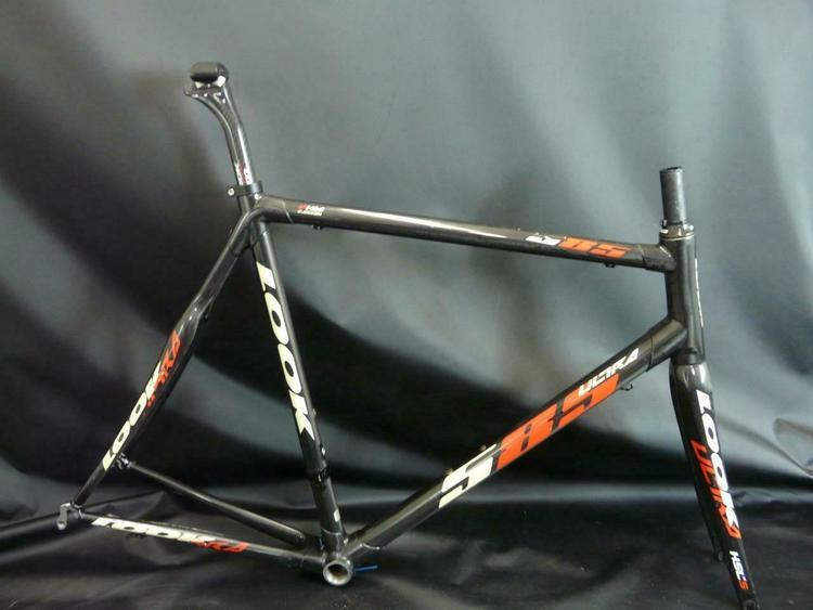 Carbon Fiber Road Bike >> Look 585 Ultra Carbon Fiber Road Bike Frameset Size Xl