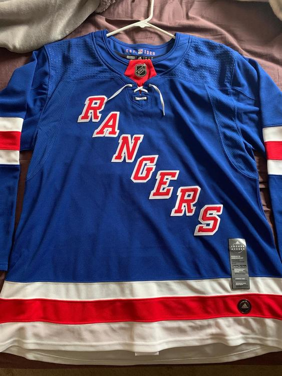 los angeles d39ba 5c8f5 New York Rangers Adidas Authentic Jersey (54)