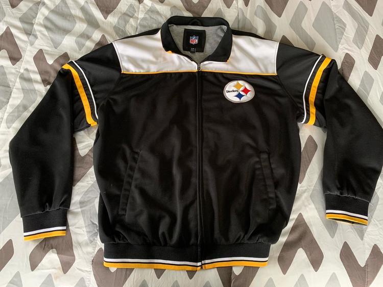 sale retailer 735cb 2333c Pittsburgh Steelers NFL Track Jacket