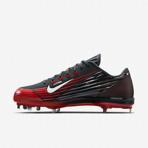 the latest fc212 ccc6f 68895 Nike Lunar Vapor Pro Men s Baseball Cleats NIB 016 Black White Red No  Trades . Related Items