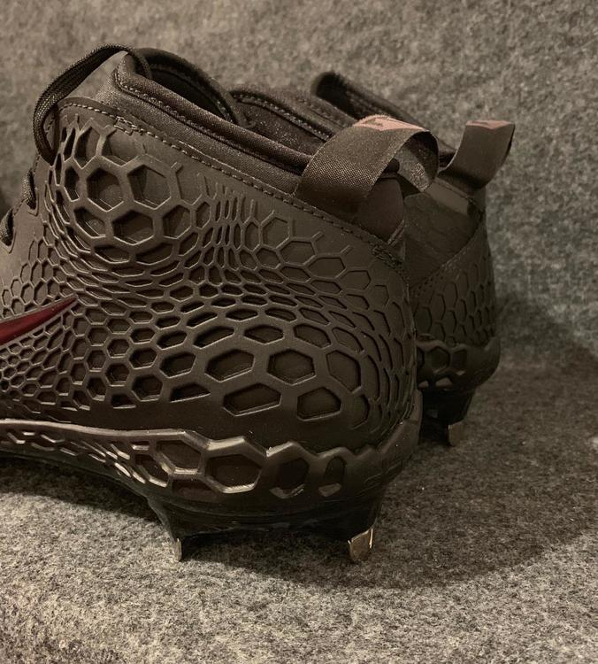 3c82c1a6a6675 Nike NEW Force Zoom Trout 5 Cleats Triple Black AH3373-002 Size 10 ...