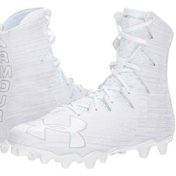 d4479498909c Under Armour New Mens LAX Highlight MC Football Cleats White/Red | EXPIRED  | Lacrosse Footwear | SidelineSwap