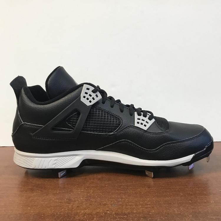 Jordan Retro 4 Metal Tip Cleats Size 14