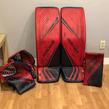 Bauer Goalie Pads   Buy and Sell on SidelineSwap