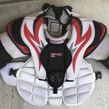 Vaughn Goalie Chest Protectors   Buy and Sell on SidelineSwap