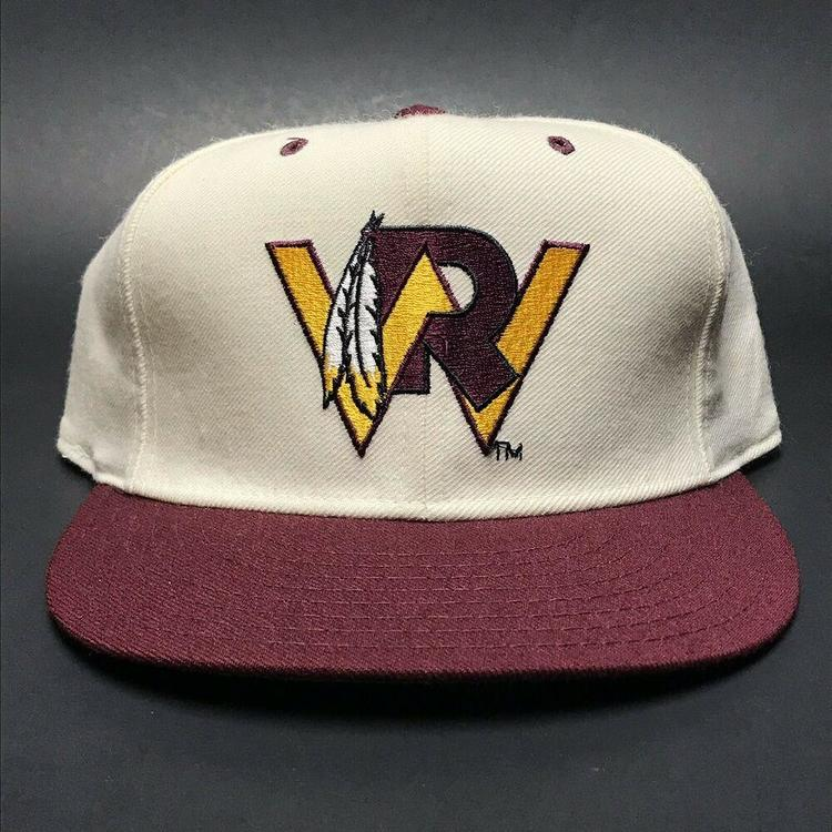 8c0b935163ee7 VTG Washington Redskins New Era Wool Fitted Hat NFL Football 1990s Size 7 1 2.  Related Items