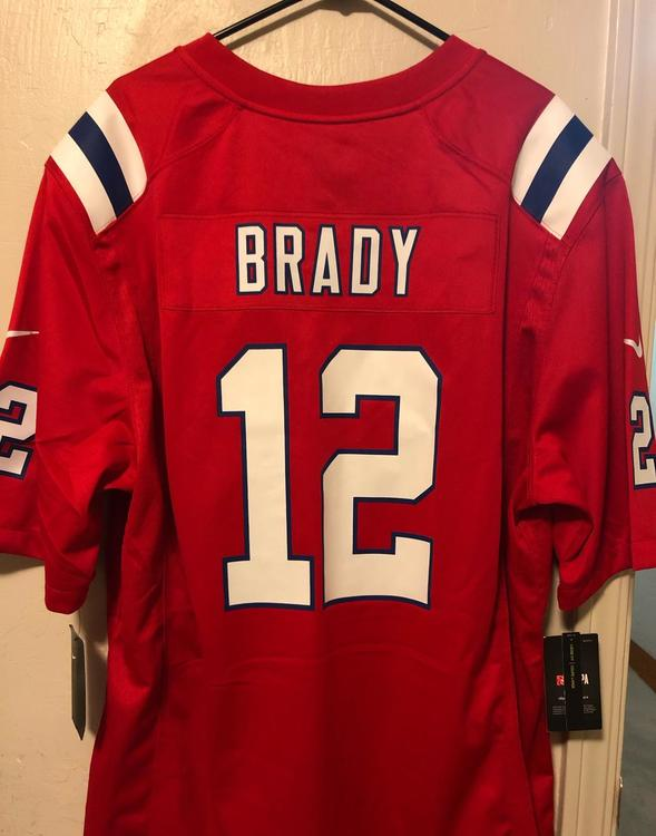 buy online f146c fb1e2 Tom Brady Patriots Jersey XL NEW WITH TAGS FSOT