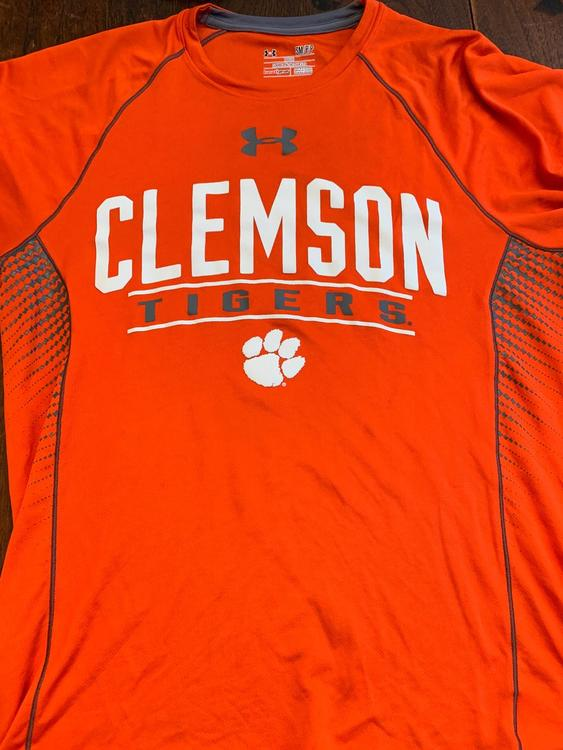 85a82b4fc56 Under Armour orange Clemson tigers shirt