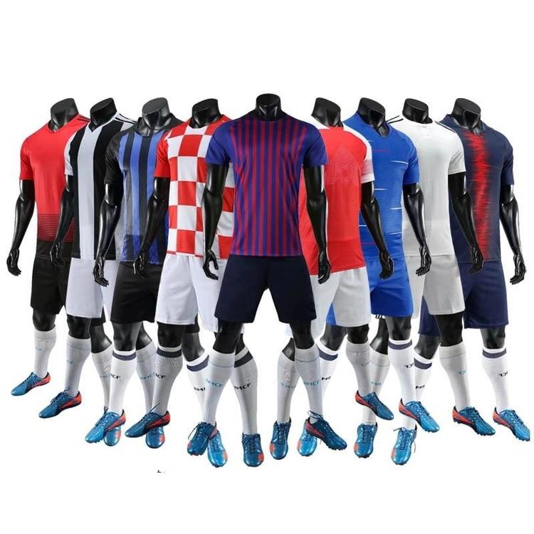 huge selection of 1fd2f aa348 Jersey + Shorts Soccer Jerseys Sublimation Customize Wholesale
