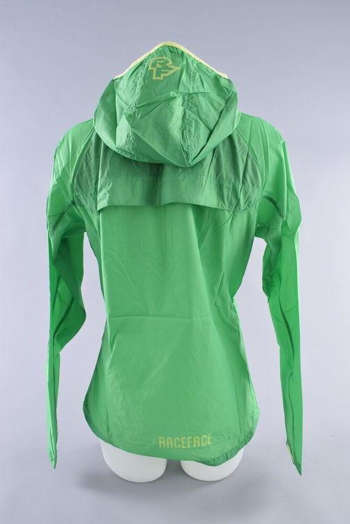 f183fbc8b Race Face Nano Packable Jacket Womens Medium Green MTB Bike Wind Water  Repellant | Bikes Apparel | SidelineSwap