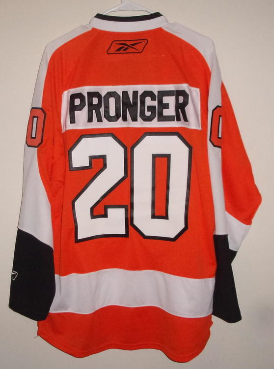 the latest f067d 0cd17 Chris Pronger (Philadelphia Flyers) Jersey (Adult-Large)