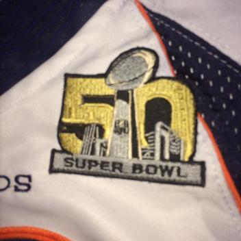 online store e2f1f 73c0f Nike Peyton Manning Broncos White SB50 Jersey   Football ...