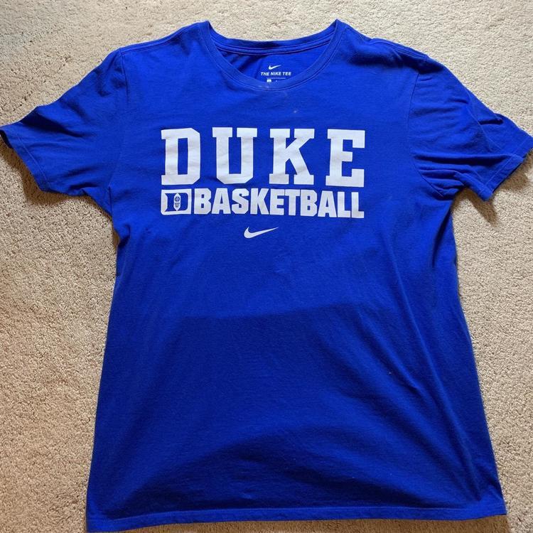 huge discount 99fc5 3aaf5 Men's duke basketball camp shirt rare