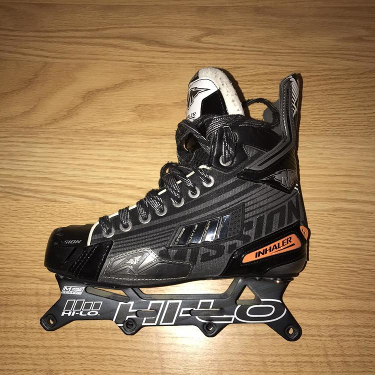 Mission Inhaler DS4 Roller Hockey Skates / Size 6 5D