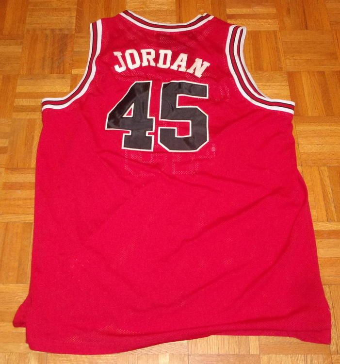 super popular 45d2f fa281 Michael Jordan Jersey (#45) Mitchell & Ness (1991-92) (4XL)