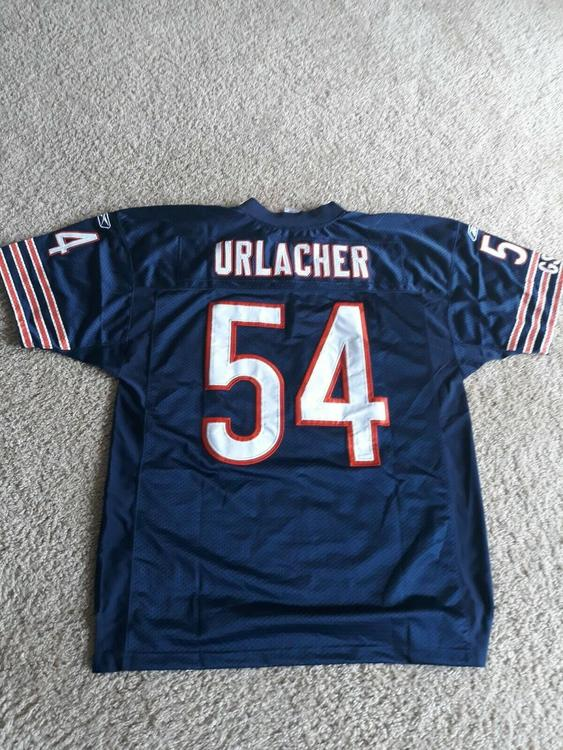 brand new 80ef6 65a96 Authentic On field Reebok Chicago Bears Jersey Brian Urlacher Size 48