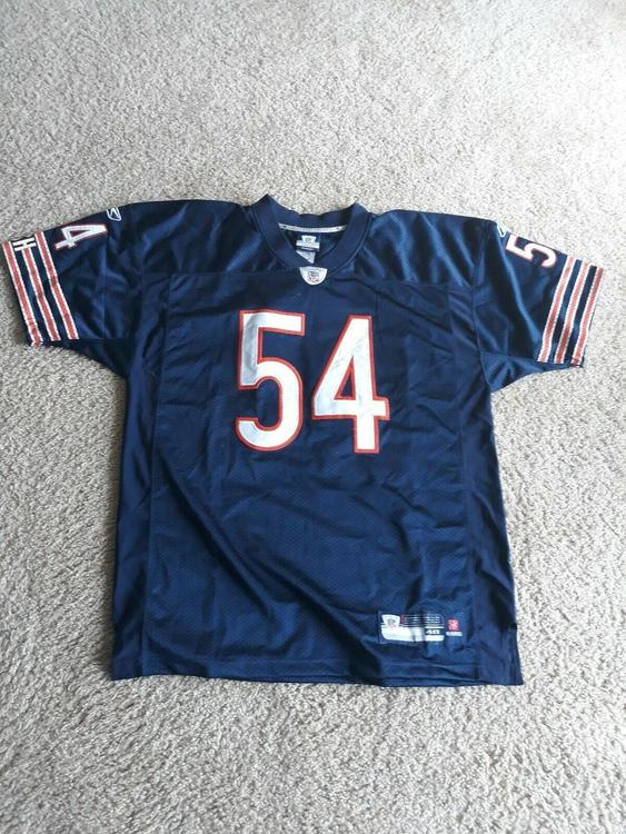 1418aba8d2c Authentic On field Reebok Chicago Bears Jersey Brian Urlacher Size 48 | Football  Apparel | SidelineSwap