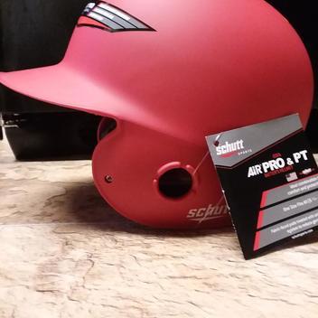 d9e121cd Schutt Air-6 BB/SB Batters Helmet OSFM F.Green/White Matte ...