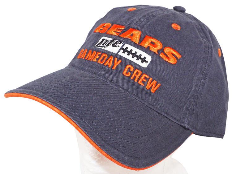 1f12d8ac CHICAGO BEARS MILLER LITE PROMO GAMEDAY CREW HAT - NFL FOOTBALL VINTAGE CAP  NEW