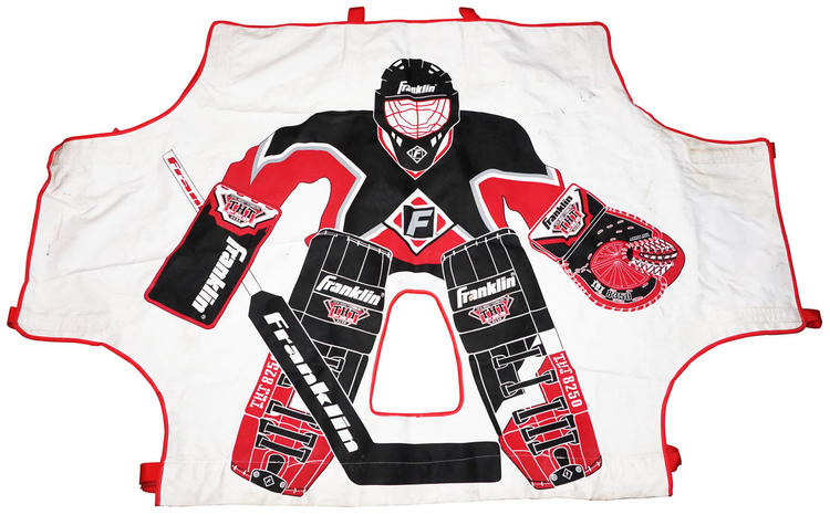 Franklin Sports Street Nhl Shooting Target Attach To Net Used Late