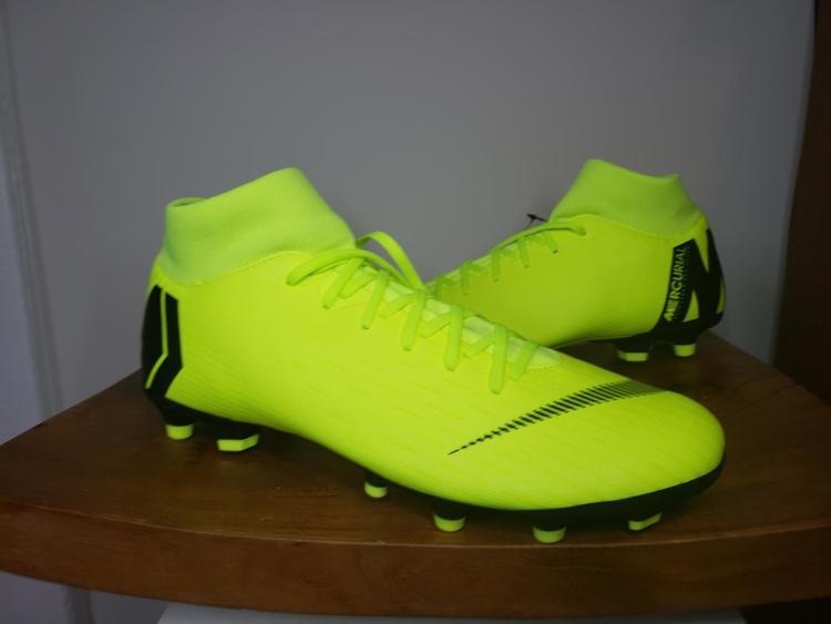 more photos 9e6ed b7ae2 Nike Superfly 6 Academy FG/MG Soccer Cleats Volt/Black AH7362 701 US Size  11.5