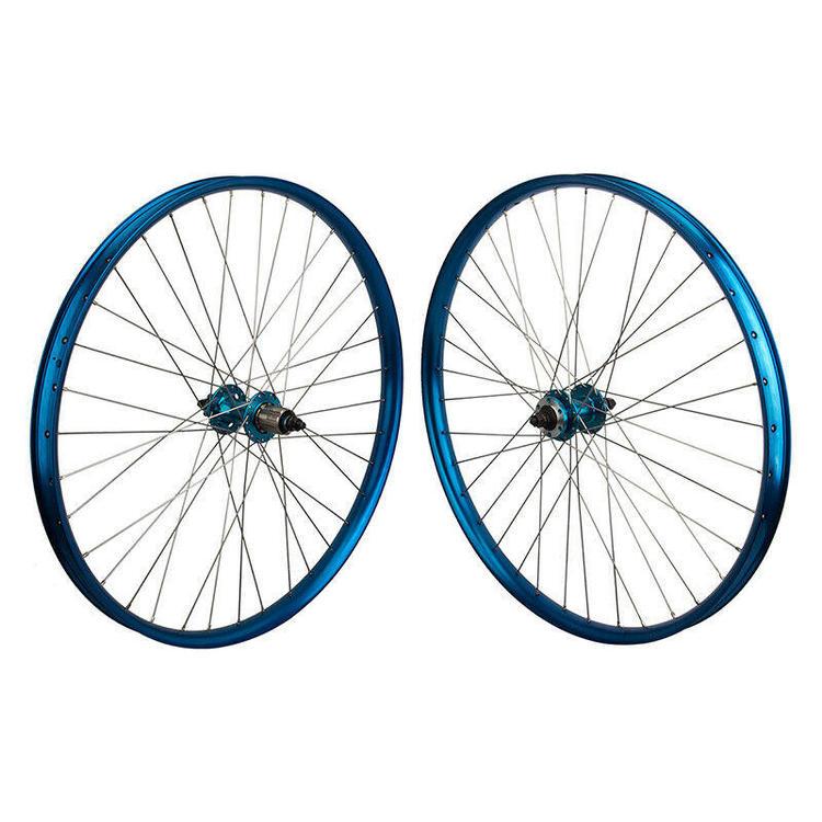 SE Bikes Om Duro 27 5 650b Mountain Bike Wheels 6 Bolt Bolt On 3/8 BOOST  Blue