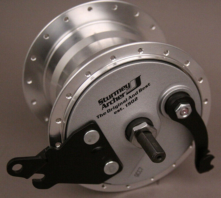 Sturmey Archer RXL-RD5 5 Speed Internal Gear Hub 17t w 90mm Drum Brake Closeout